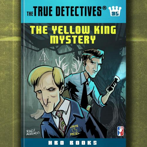 Mystery of the Yellow King fake Hardy Boys book based on True Detective