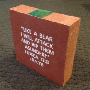 Brick for Baylor's McLane Stadium