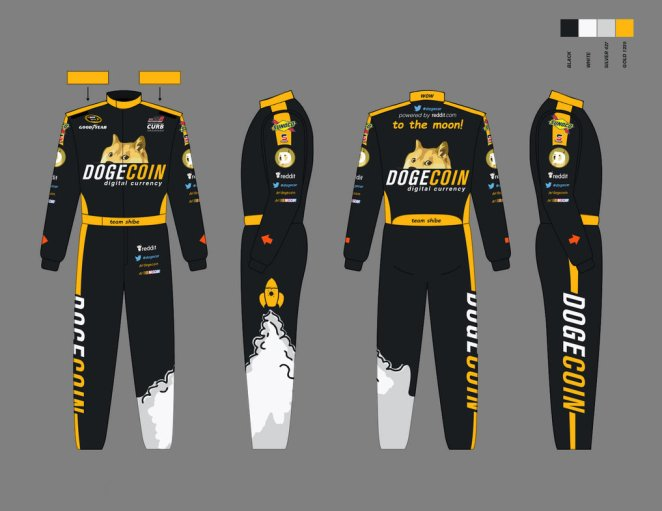 Josh Wise firesuit for Aaron's 499 NASCAR race.