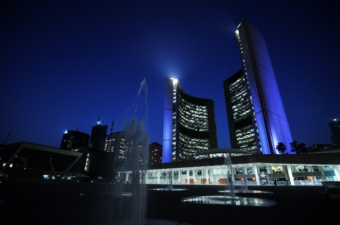 External photo Nathan Phillips square