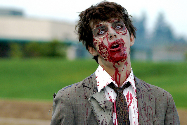 Zombie Pranks Halloween Scary Advertising