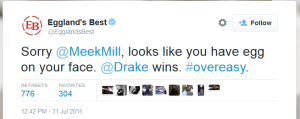 Drake marketing Twitter
