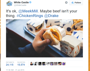 Meek Mill Drake beef White Castle