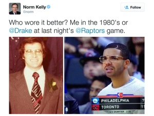 Norm Kelly Drake Twitter