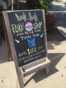 Advertising Pokemon Go