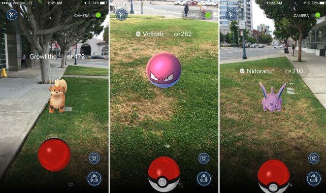 Marketing to Pokemon Go audience